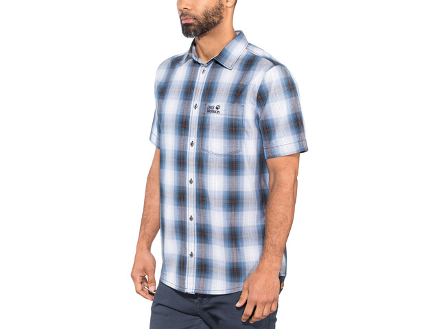 Jack Wolfskin Hot Chili Shirt Herren night blue checks